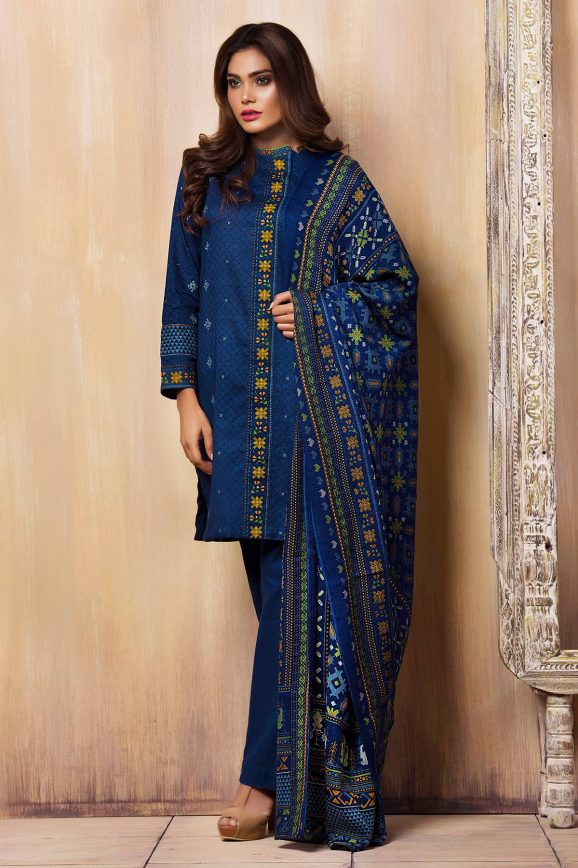 Kayseria Best Winter Dresses Collection 2017-18 Pret, Fabric & Ladli images 3