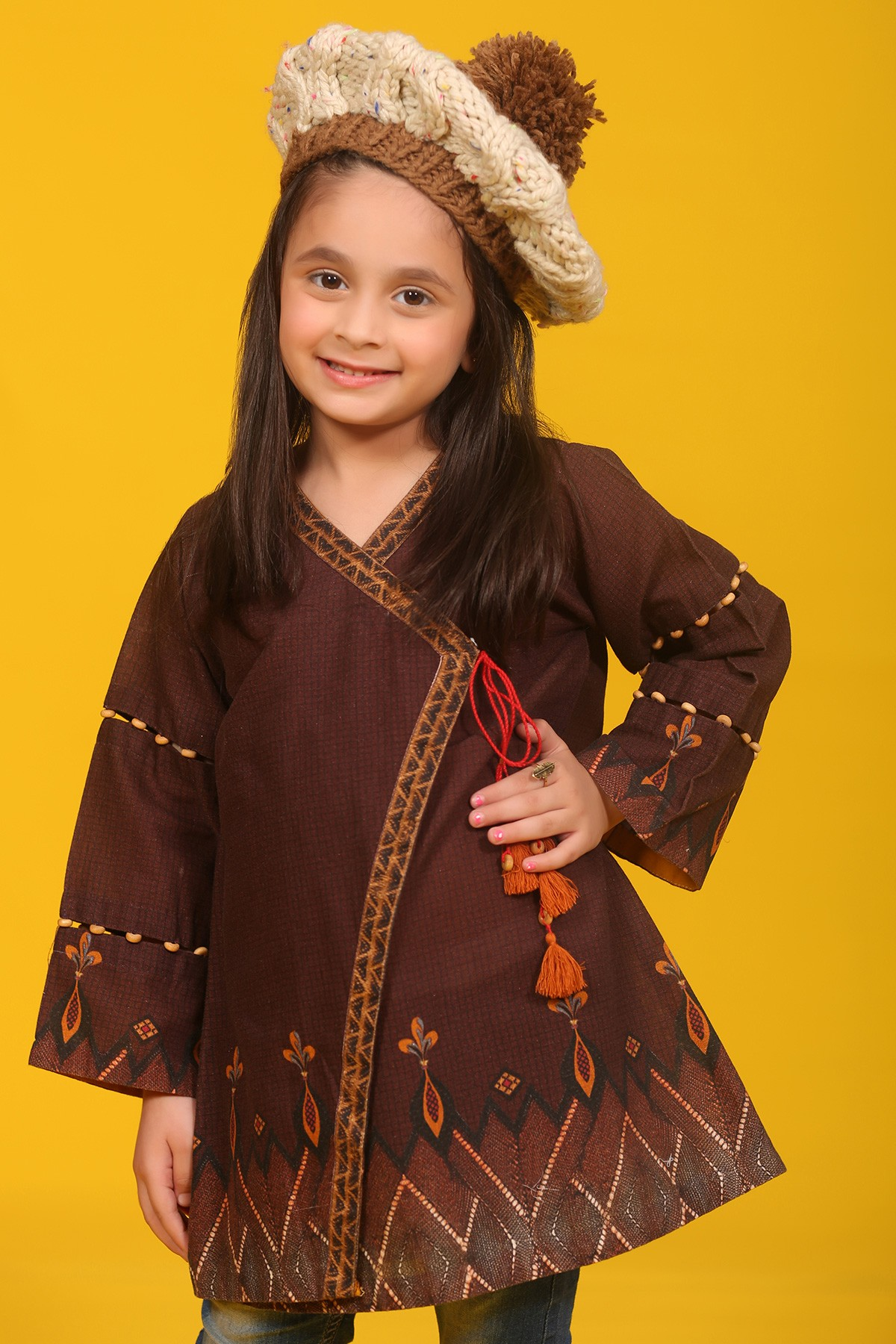 d4756a517 Kayseria Best Winter Dresses Collection 2018-19 for Women   Little Girls