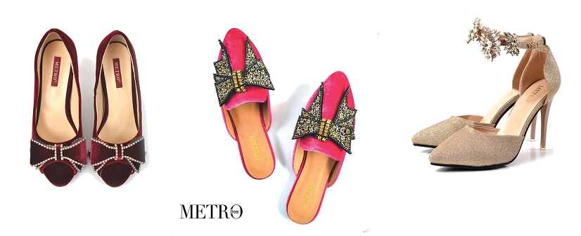 Latest Metro Shoes Stylish Winter Footwear Designs Collection 2018-2019