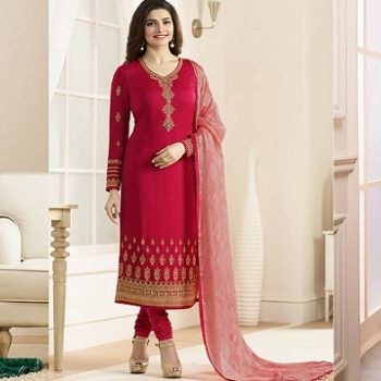 Latest Pakistani Indian Straight Cut Salwar Kameez 2018-19 Designs