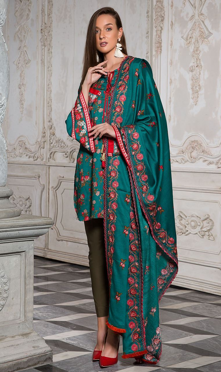 Textile orient winter collection exclusive photo