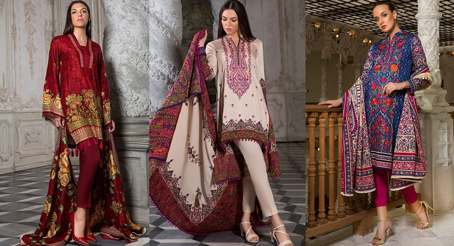 3e0e4bf7aa Orient Latest Winter Dresses 2018-19 by Embroidered Printed Collection