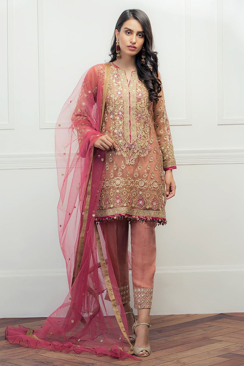 9f312ec79e7 Have a look and get inspired by the latest Pakistani party wear embroidered  shirts designs.