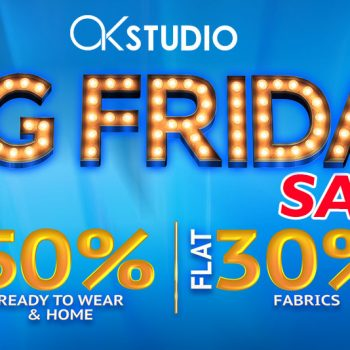 Alkaram Big Friday Sale of the Year – Up to 50% Off