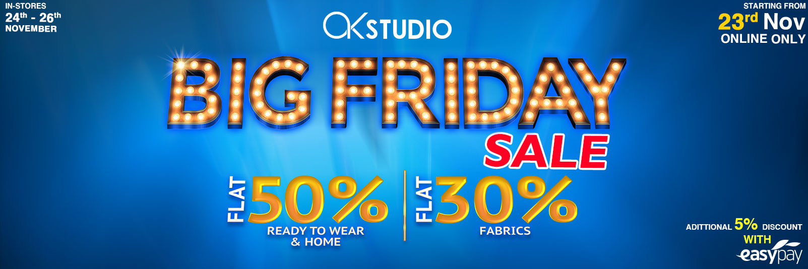 Alkaram Big Friday Sale of the Year – Up to50% Off (2)