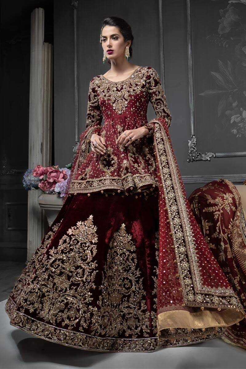 677cd68e18c29 This collection has long-tailed gowns, frocks, maxi, long shirt/kameez and  lehengas featuring sequin works and sober embroidery but all of this is  best ...