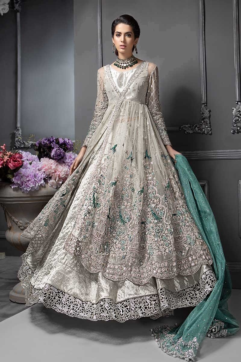 Pakistani Designer Bridal Dresses Maria B Brides 2020 2021 Collection