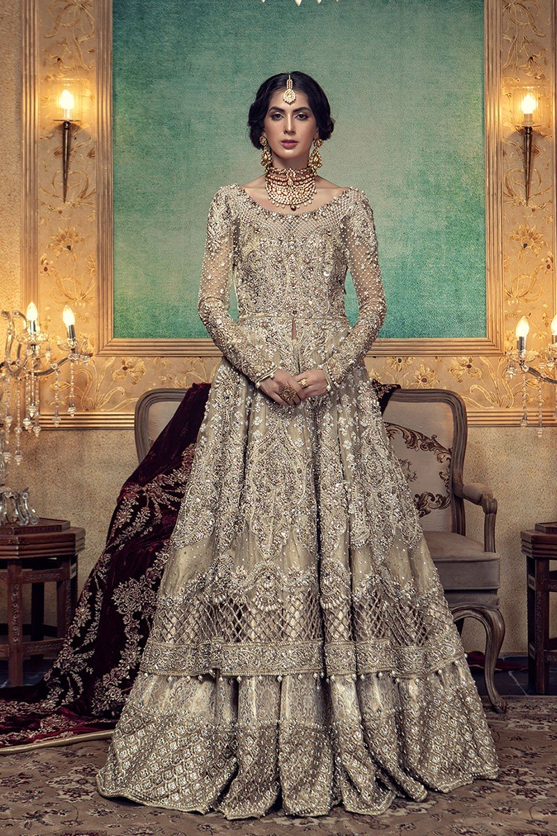 Pakistani Designer Bridal Dresses Maria B Brides 2019 2020 Collection