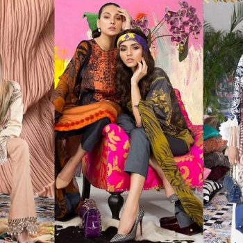 Sana Safinaz Winter Dresses Muzlin Collection 2018-2019