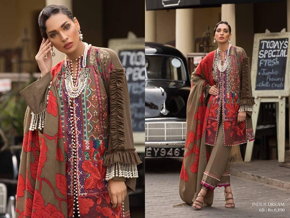 d633f9dbc7 Latest Sana Safinaz Winter Shawl Dresses Collection 2018-2019 (19 ...