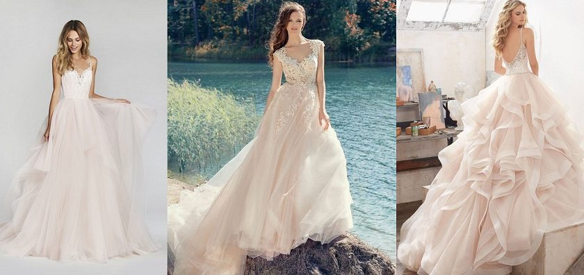 Latest Bridal Luxury Dress Fabrics Trends 2018-19