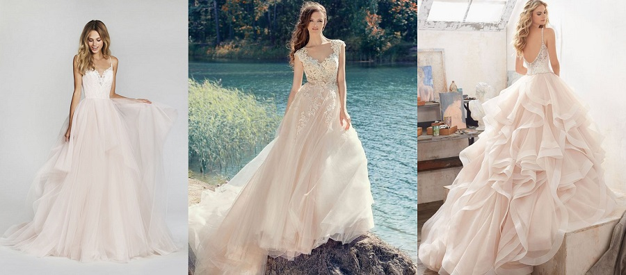 Latest Bridal Luxury Dress Fabrics Trends & Designs 2018-2019