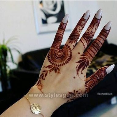 Beautiful Easy Finger Mehndi Designs 2020 2021 Styles