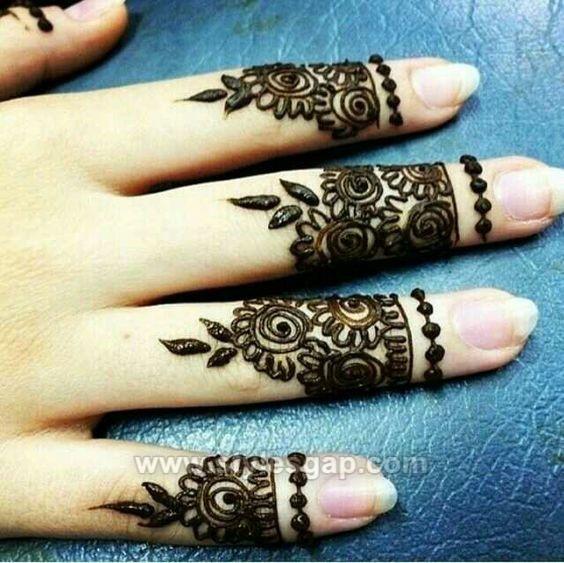 Beautiful Easy Finger Mehndi Designs 2019 2020 Styles