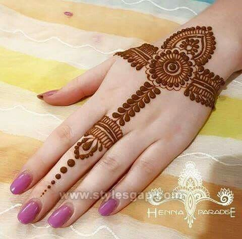 Beautiful Easy Finger Mehndi Designs 2018 2019 Styles 2020