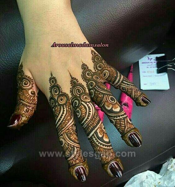 Beautiful Easy Finger Mehndi Designs 2020 2021 Styles