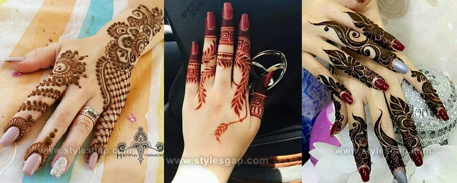 Beautiful Easy Finger Mehndi Designs 2018 2019 Styles