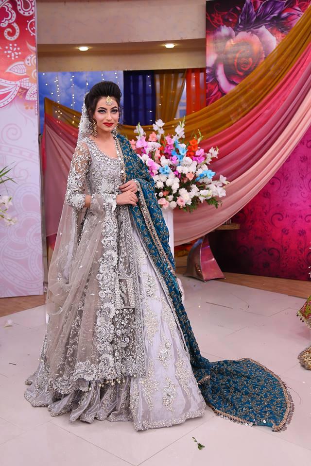 Bridal dresses in velvets have an elegant appeal. Experts have used infused  applique work 06c34f775