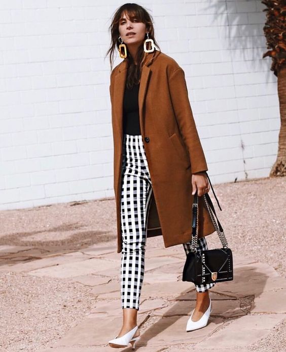 Check Print- Top 10 Main Winter Fashion Trends Outfit ...