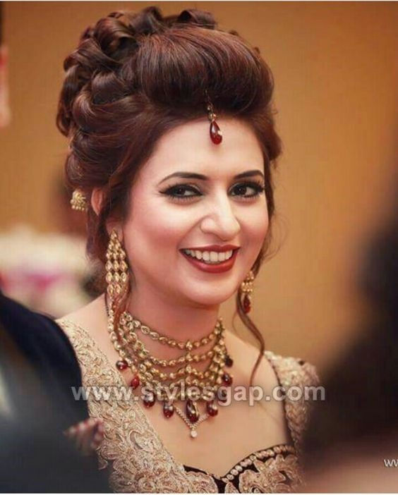 Asian Wedding Hairstyle: Latest Asian Party Wedding Hairstyles 2018-2019 Trends