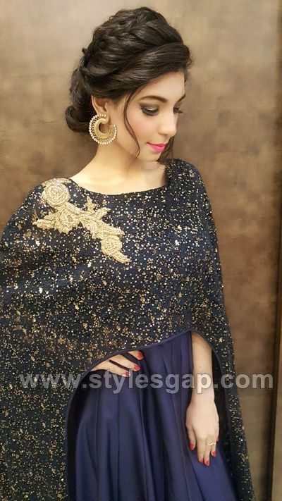 Latest Asian Party Wedding Hairstyles 2018 2019 Trends 2020 By Dikhawa Online Shopping