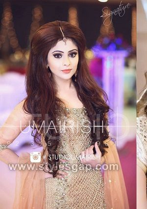 Latest Asian Party Wedding Hairstyles 2018-2019 Trends