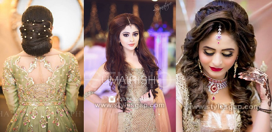 a8aa9c52b6 Latest Asian Party Wedding Hairstyles 2018-2019 Trends