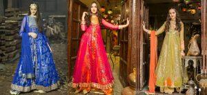 Latest Women Party Wear Fancy Formal Dresses 2018-19 Designs