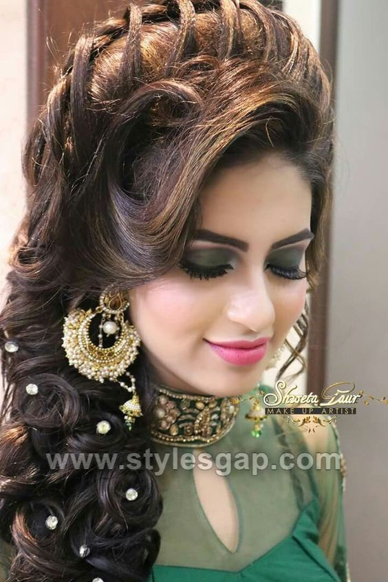 new hair style india asian wedding hairstyles 2018 2019 trends 5465