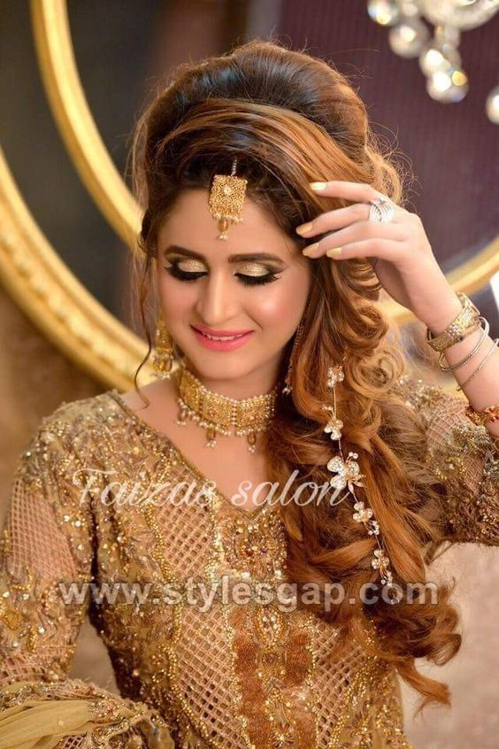 Latest Asian Party Wedding Hairstyles 2020 Trends