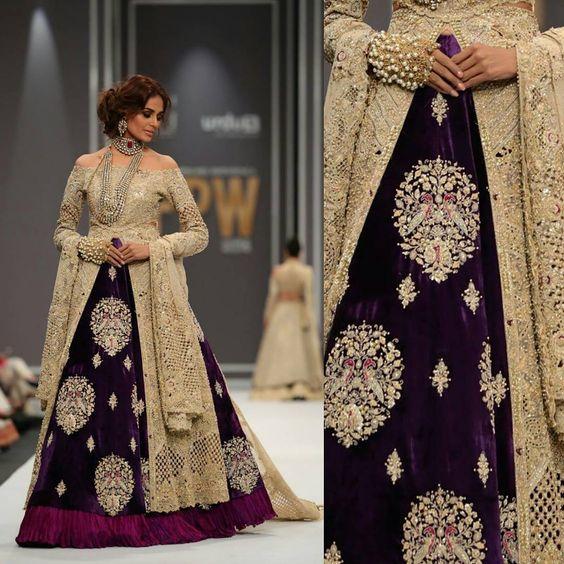 Velvet Gowns- Winter Velvet Dresses Designs Latest Trends Collection ...