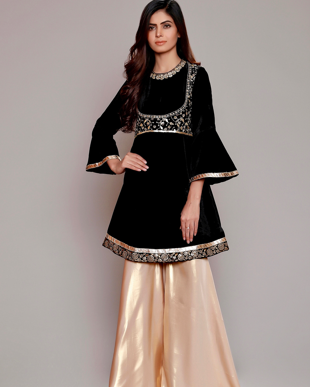 Dress Designs: Winter Velvet Dresses Designs Latest Trends Collection