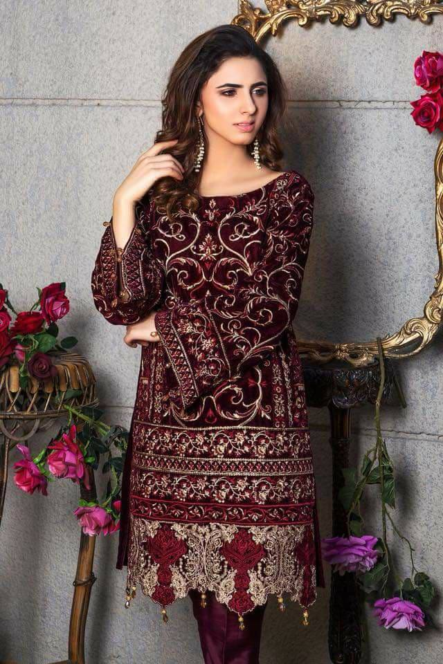 f51ed68e826 If you embellish this upper with a fancy dose of zari embroideries, you get  yourself a perfect party dress.
