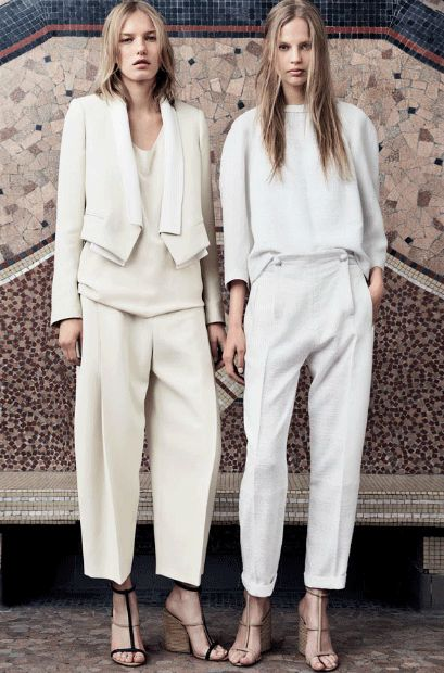 White Color Trend Top 10 Main Winter Fashion Trends Outfit Styles