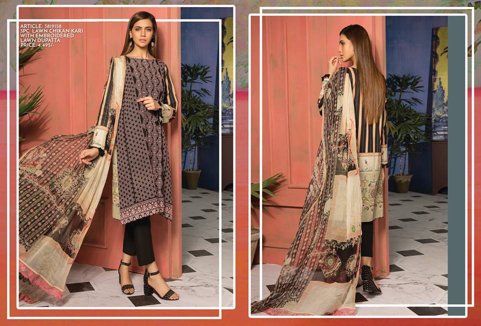 6a9b4e803b Warda Latest Summer Dresses Printed & Embroidered Collection 2019