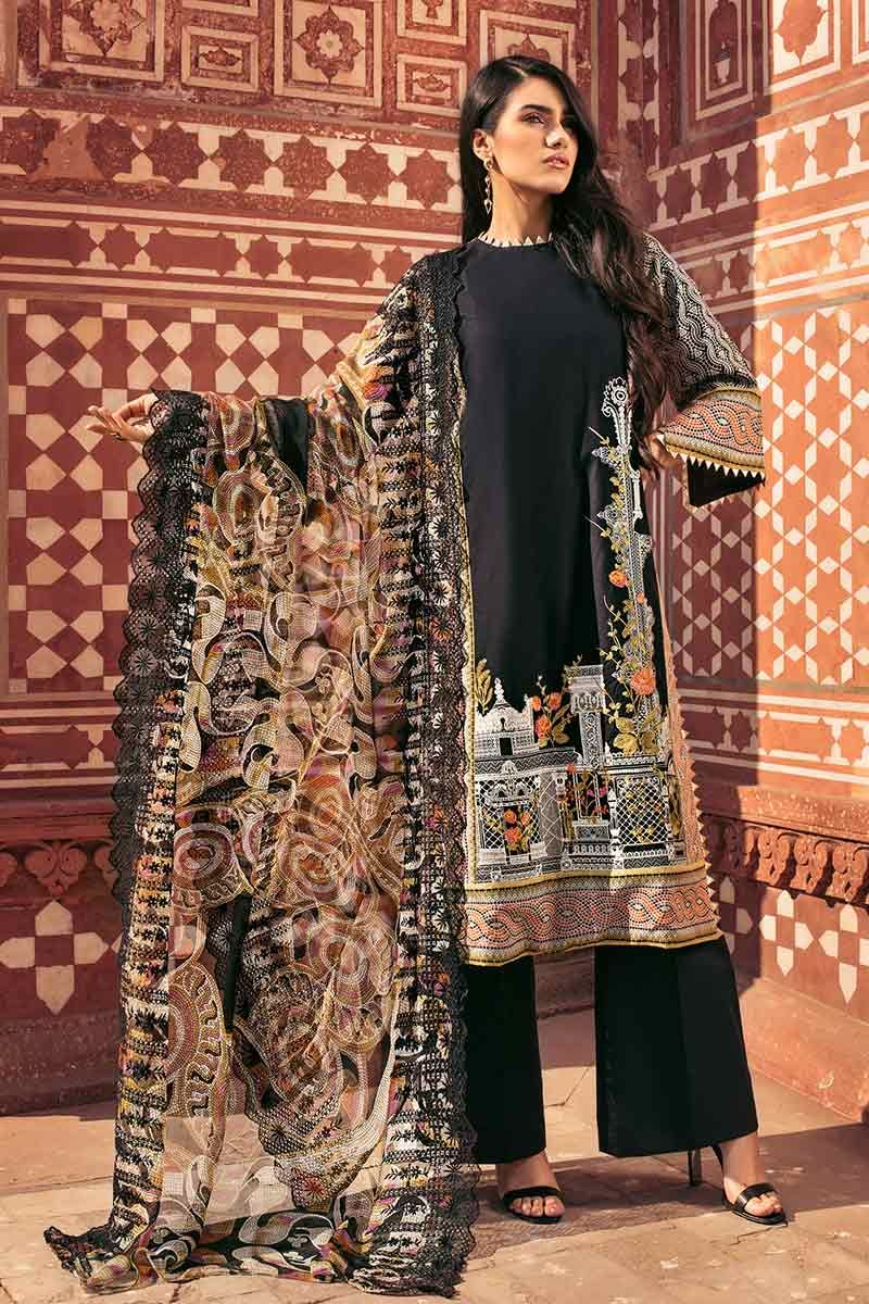 86003a2f6a It has bold prints in black, blue and greens will steal your sight. Beauty  with elegance has become the ritual to follow by Gul Ahmed.