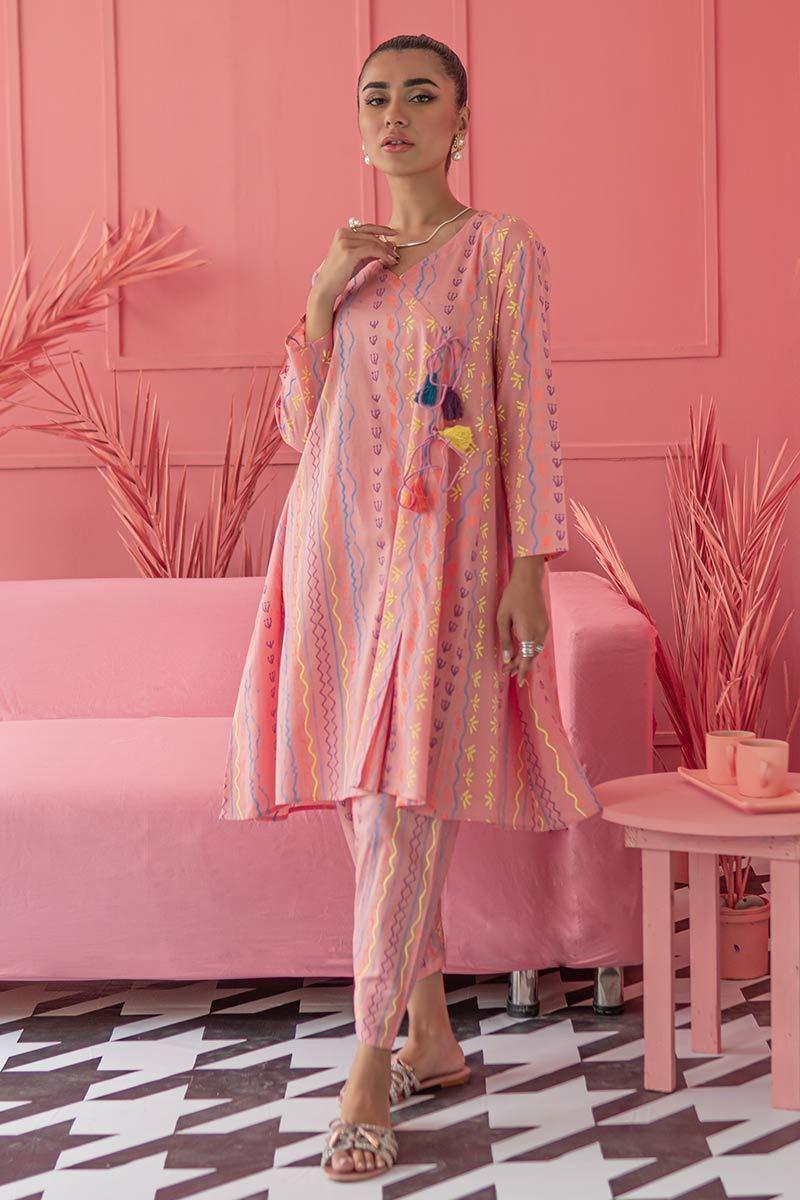 Latest Stylish Ladies Summer Kurta Dresses