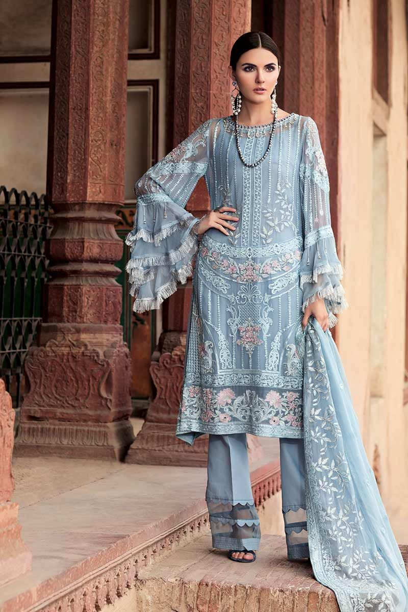 176194fefd Red with the beige colored motifs printed on the back and front of the  shirt looks perfect. While printed chiffon dupattas with plain lawn are the  charm of ...