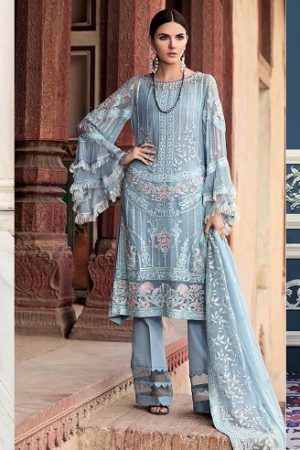 Gul Ahmed Summer Embroidered Lawn Dresses Collection 2019-2020
