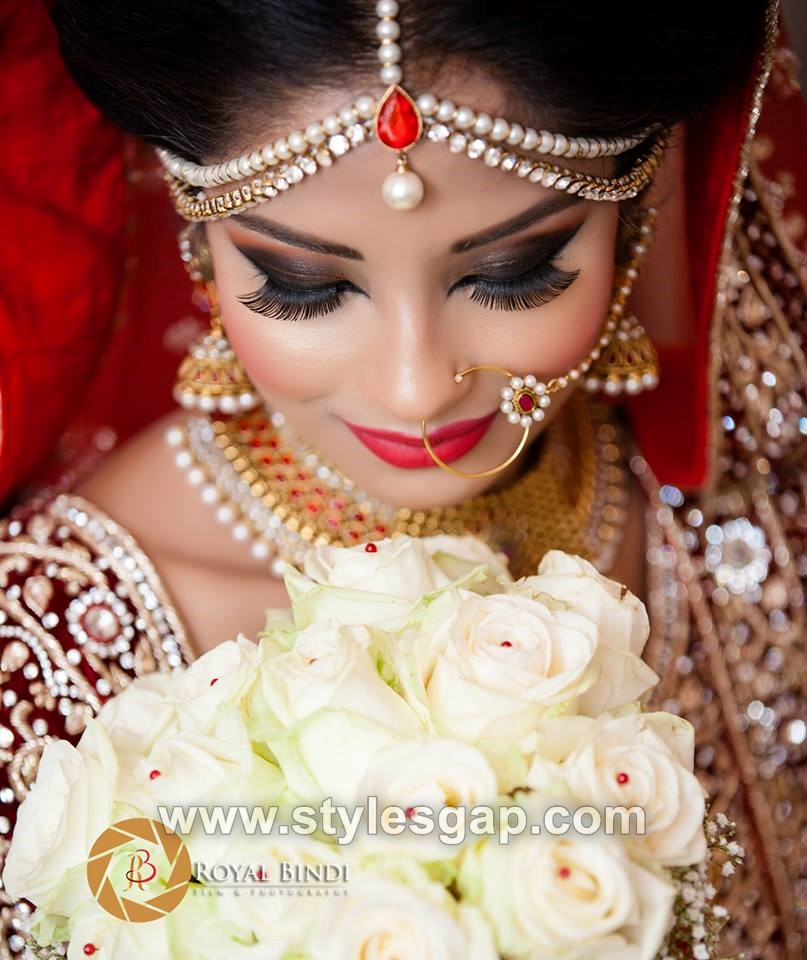 Latest Indian Bridal Dressing Trends 2018-19 Makeup ...