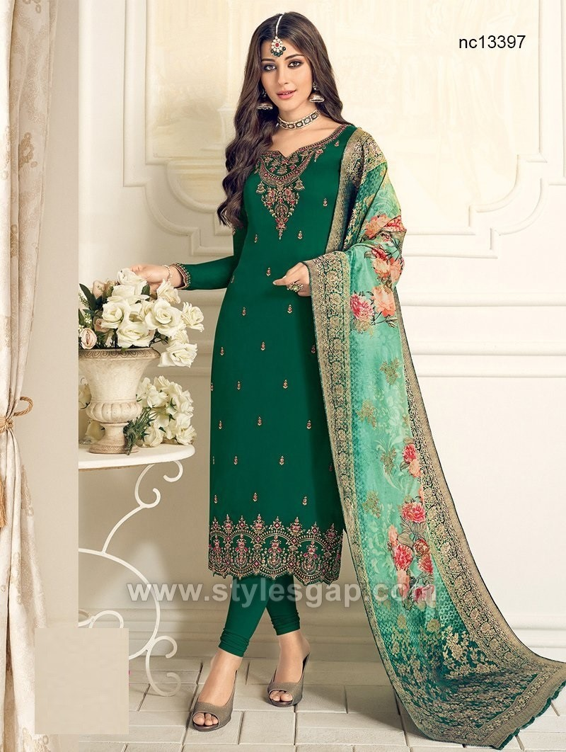 Latest Indian Churidar Suits