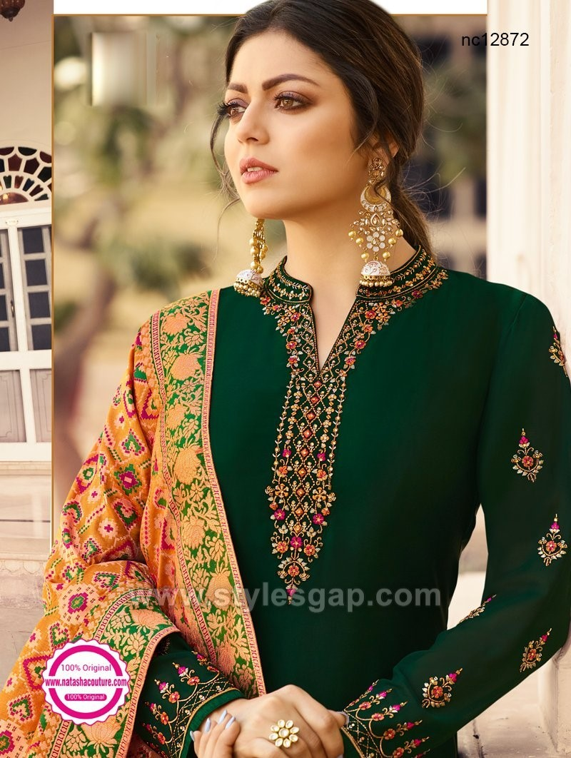 Indian Churidar Suits Designs