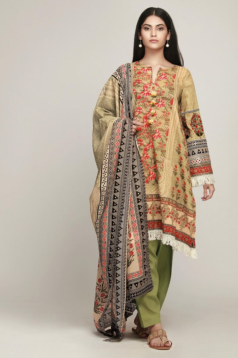 565eb3996d Khaadi Latest Summer Lawn Dresses Designs Collection 2019-2020