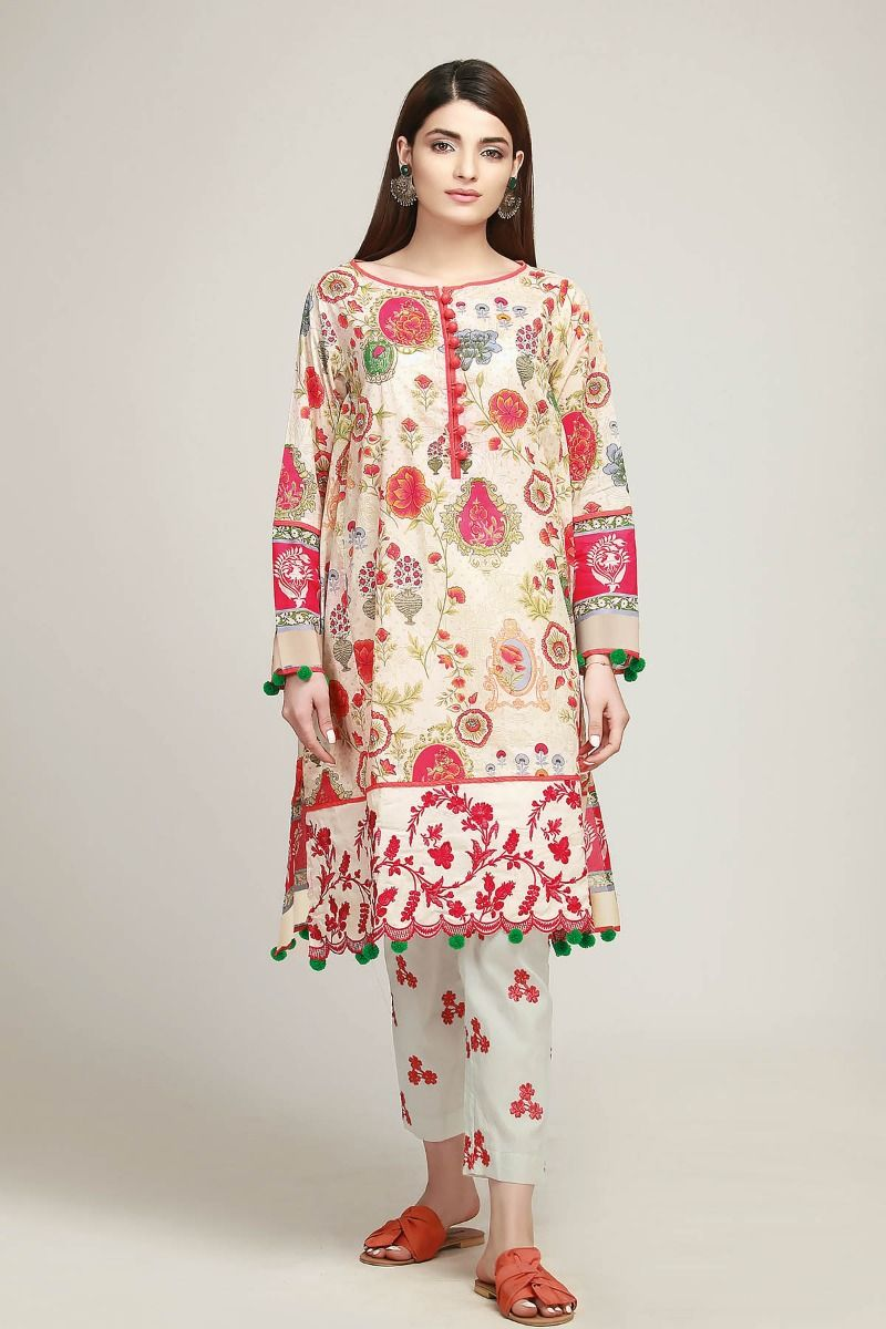 841739f985 Khaadi Latest Summer Lawn Dresses Designs Collection 2019-2020