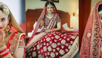 Latest Indian Bridal Dressing Trends 2018-2019 Makeup, Dresses, Jewelry, haisrtyles