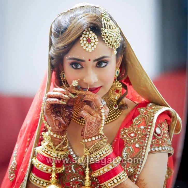 Hindu Wedding Hairstyles: Latest Indian Bridal Dressing Trends 2018-19 Makeup