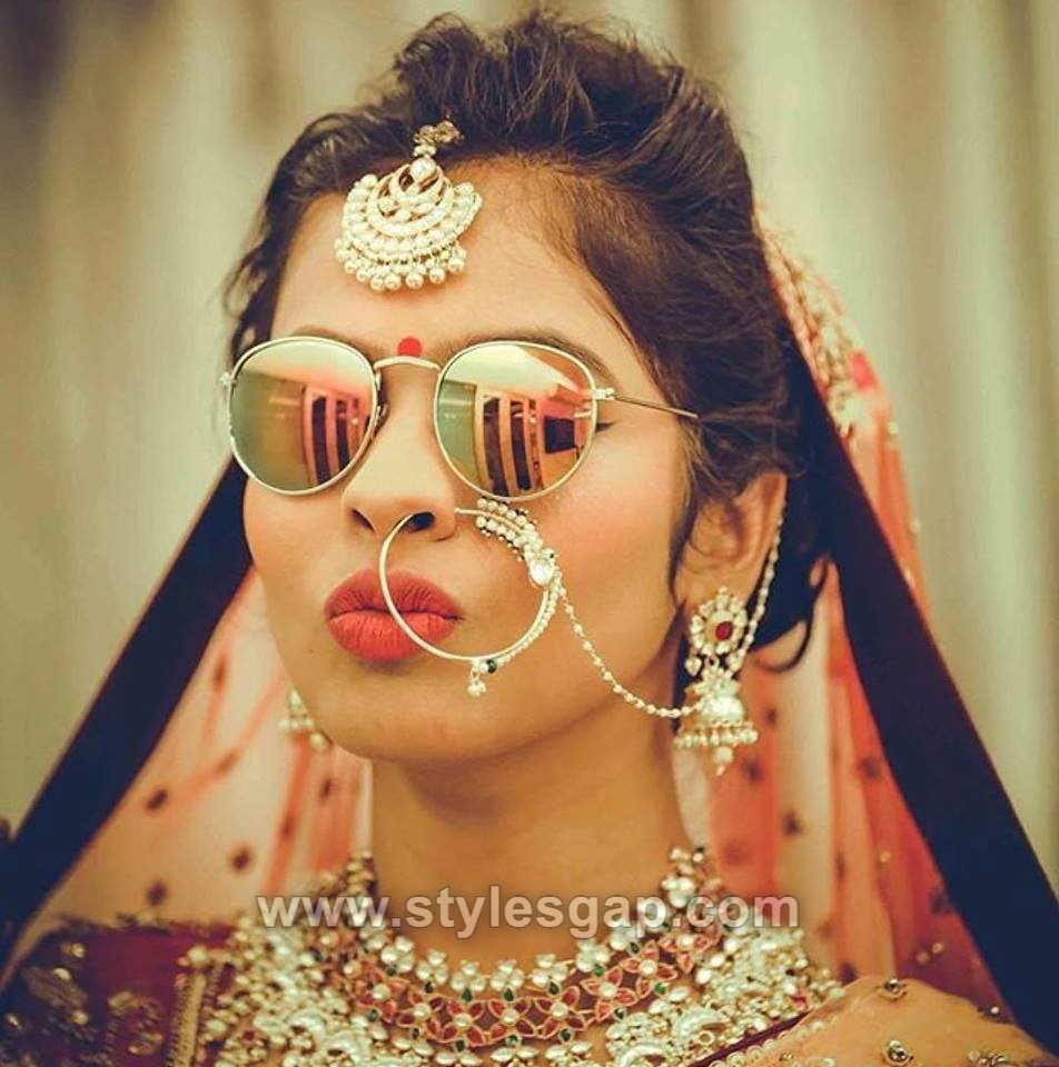 Indian latest bridal hairstyles trends