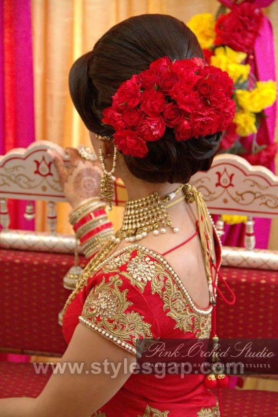 Latest Indian Bridal Dressing Trends 2018 19 Makeup Jewelry Hairstyle