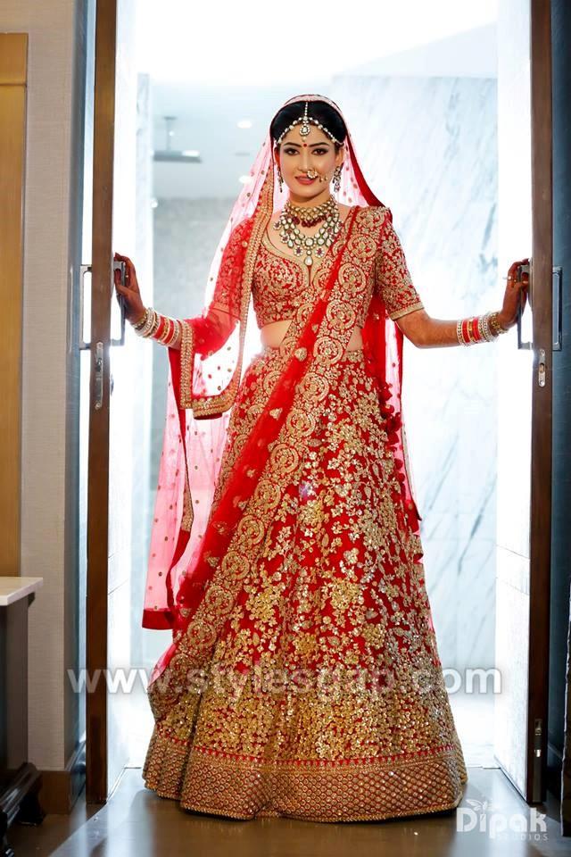 Latest Indian Bridal Lehenga Trends 2018 4