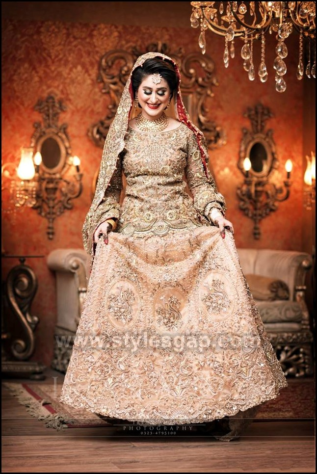 6042fe68646 Latest Walima Dresses Designs   Trends Collection 2019-2020